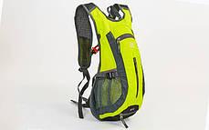 Рюкзак спортивный с жесткой спинкой GA-2081 (нейлон, р-р 31х8х43см,цвета в ассортименте ), фото 2