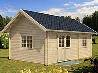 Дом деревянный из профилированного бруса 6х4.1. Скидка на домокомплекты на 2020 год