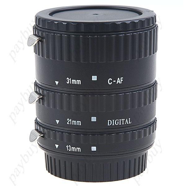Пластиковые макрокольца для Canon