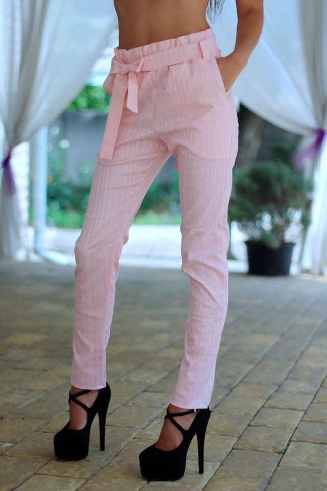 брюки с высокой посадкой