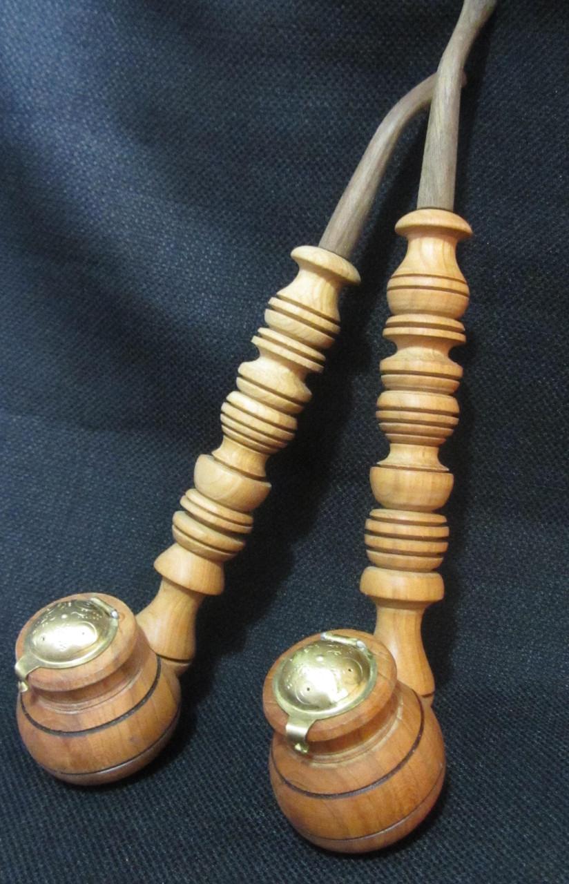 Трубка курильная деревянная, 27 см, 55\50 (цена за 1 шт. +5 грн.)