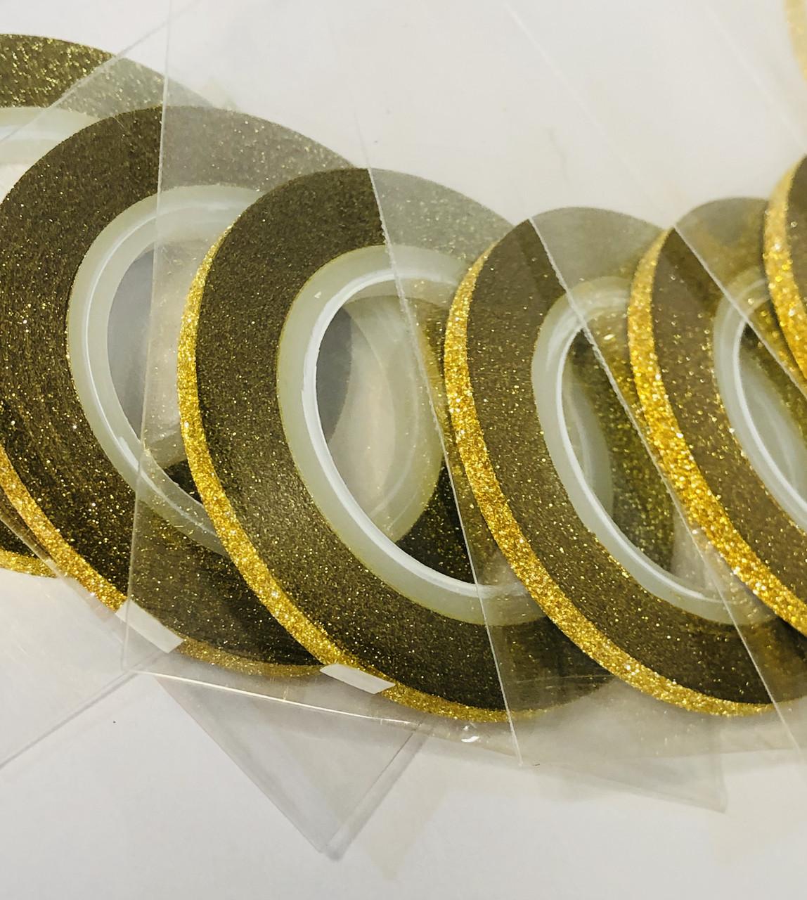 Сахарная нить , 3 мм , золото
