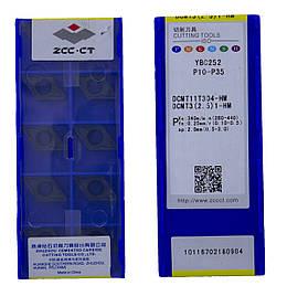 Пластина ZCC-CT DCMT 11T304-HM YBC252
