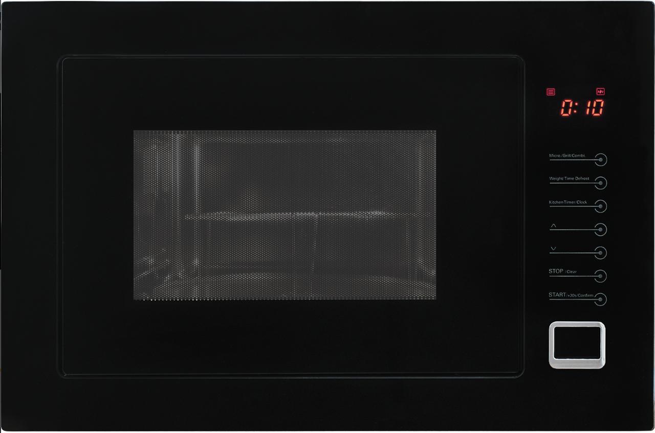 Микроволновка встраиваемая Kernau KMO 254 G B  черная