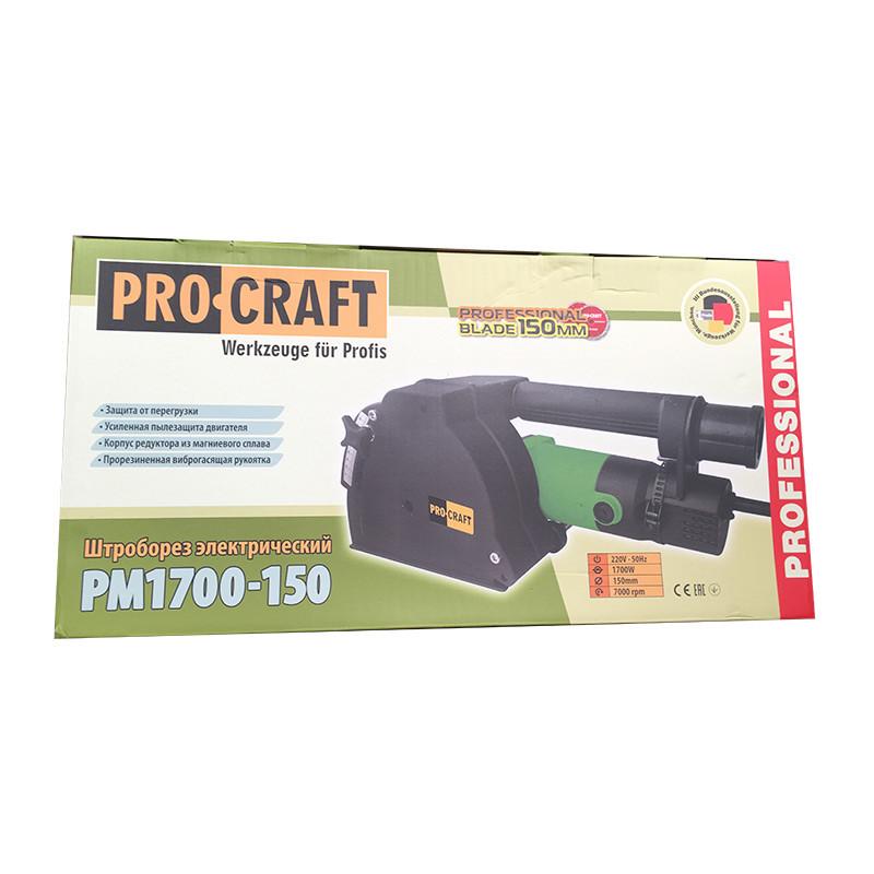Штроборез Procraft PM1700-150