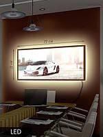 LED Картина, Белая и быстрая