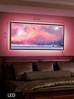 LED Картина, Спокойное море