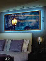 LED Картина, Уличный фонарь