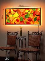 LED Картина, Осенние листья