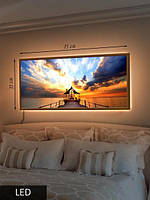 LED Картина, Помост и беседка