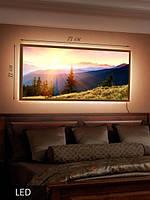 LED Картина, Рассвет в горах