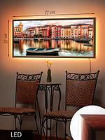 LED Картина, Канал в Венеции