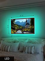 LED Картина, Средняя, Спокойный пейзаж