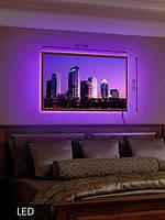 LED Картина, Средняя, Фиолет