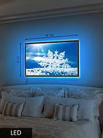 LED Картина Снежинка