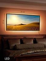 LED Картина, Песочные дюны