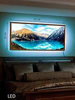 LED Картина, Горное озеро