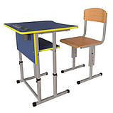 Школьная парта Першачок и ученический стул Кадет - комплект мебели для Новой школы, фото 2