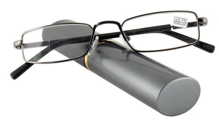 Готовые очки для чтения в футляре