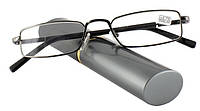 Готовые очки для чтения в футляре(+3.5)
