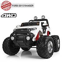 Электромобиль детский джип Ford Ranger (Monster Truck) M 4013(MP4)EBLR-1 | MP4 монитор