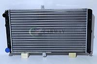 Радиатор охлаждения ВАЗ 2110-12 карбюратор+инжектор 2112-1301012 Прамо, фото 1