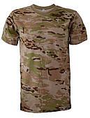 """Камуфлированные футболки """"Мультикам"""" коричневый (баталы)"""