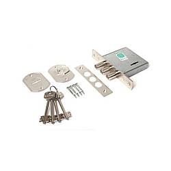 Замок врезной Гардиан 10.01 4 ключа полный комплект