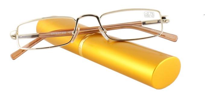 Готові окуляри для читання в футлярі (+1.0)