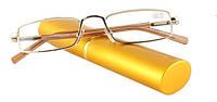 Готовые очки для чтения в футляре, фото 1