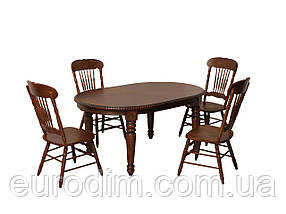 Стол обеденный HNDT-4280-SWL темный орех, фото 3