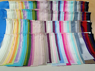 Образцы ткани Satin