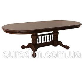 Стол обеденный HNDT-4296 SWC темный орех, фото 3