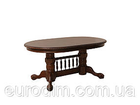 Стол обеденный HNDT-4296 SWC темный орех, фото 2