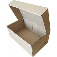 Коробка (205 х 125 х 85), для детской обуви, бурая Упаковочка   177