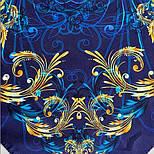 10826-14, павлопосадский платок из вискозы с подрубкой, фото 7