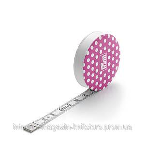 Рулетка 150 см Prym Love розовый