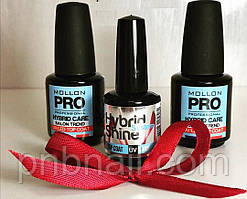 Топ Mollon Pro 12  мл ( Hybrid Shine UV Top Coat 12 мл )