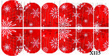 Слайдер дизайн для нігтів Сніжинки, фото 3