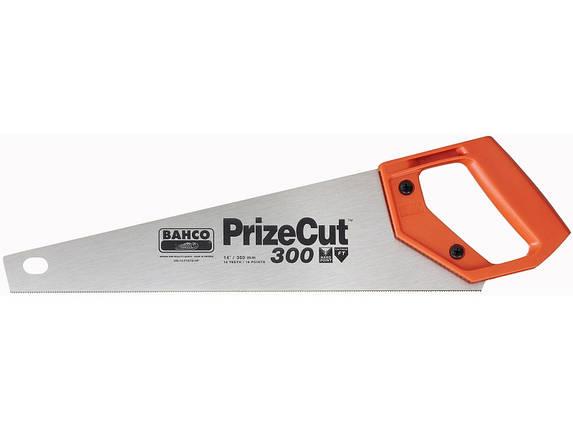 Ножовка многоцелевая для пиления алюминия, древесины, пластмассы,ламината,  PRIZECUT, BAHCO  300-14-F15/16-HP, фото 2