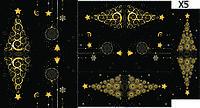 Слайдер дизайн для ногтей Елочки новый год, фото 1