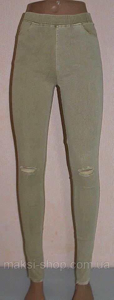 Лосины женские джеггинсы стрейч 46-48 раз (909-2)