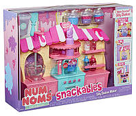 Num noms Набор Слайм фабрика для создания слаймов Snackables Silly Shakes Maker Playset Оригинал MGA, фото 1