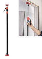 Распорка для дверных коробок PDS 30 A1 Powerfix 137-290см Черный, Красный Повреждена упаковка