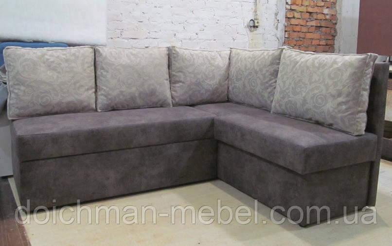 Кухонный диван с подушками