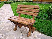 Скамейка садовая из дерева