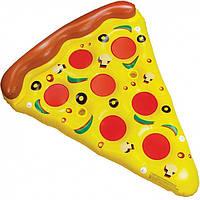 Надувной матрас Пицца 183см, Надувний матрац Піца 183см