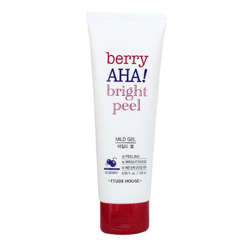 Мягкий пилинг-гель Berry Aha Bright Peel Mild Gel Etude House, 120 ml