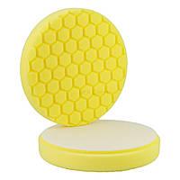 Полировальный круг Hexagon 150/160 желтый №1