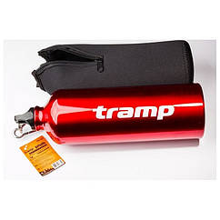 Пляшка в неопреновому чохлі Tramp 1л. Фляга туристическая